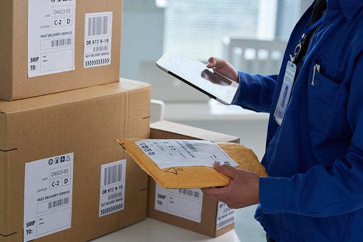 Hỗ trợ chức năng vận chuyển hàng bưu kiện (parcel shipment)