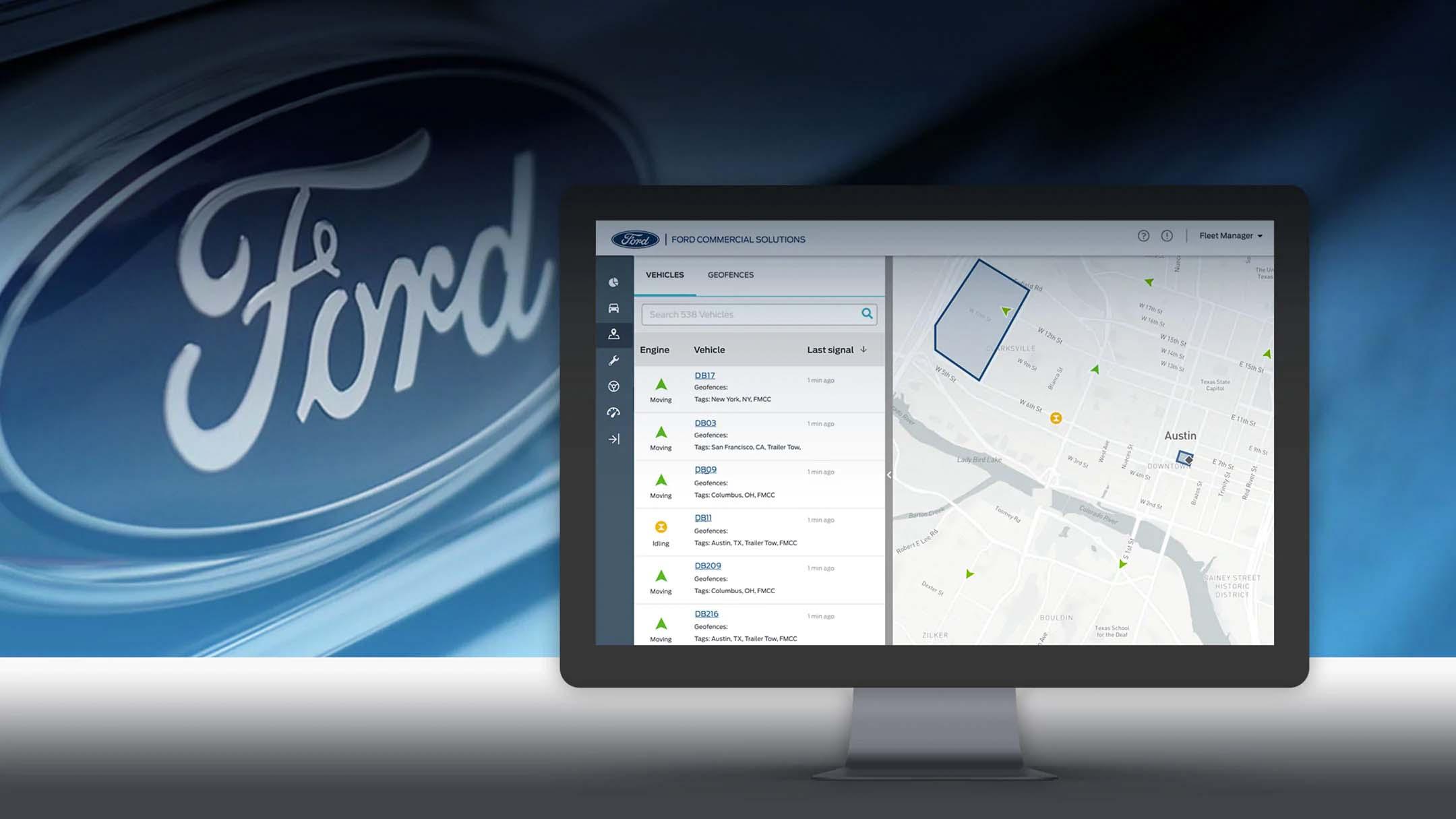 Case study quản lý vận tải của Ford