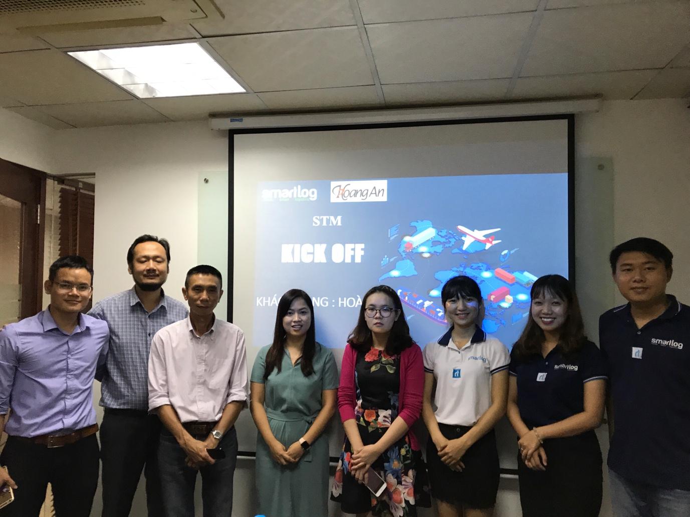 Kick off dự án STM với đối tác Hoàng An