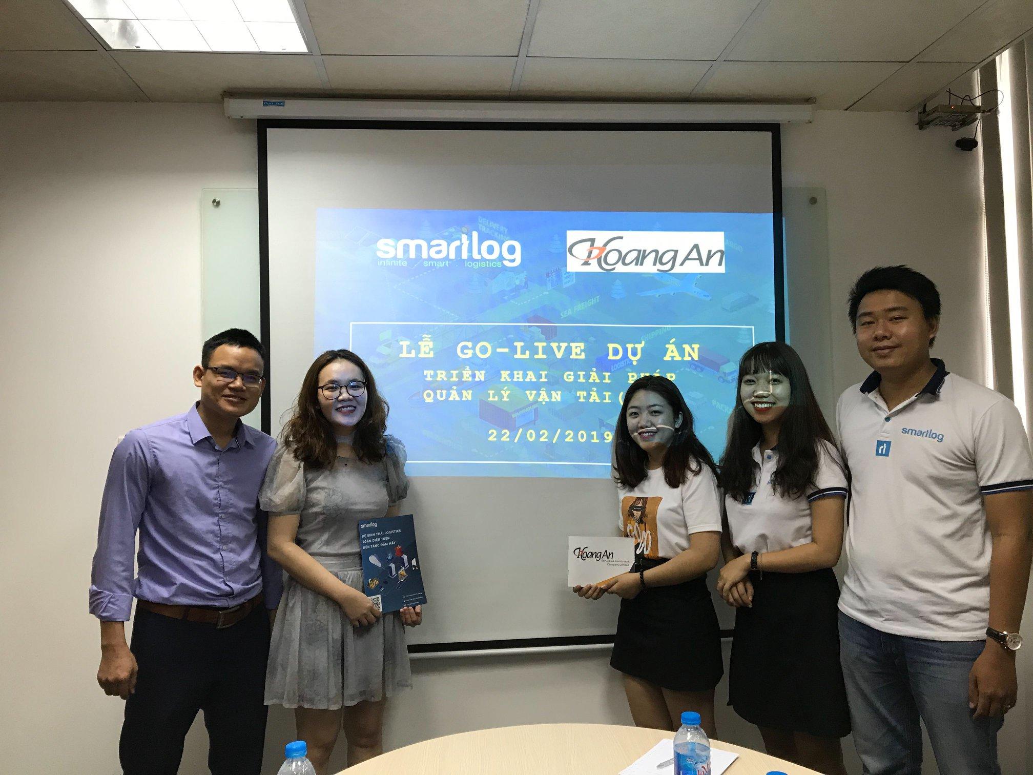 Go-live giải pháp quản lý đội xe container công ty Hoàng An