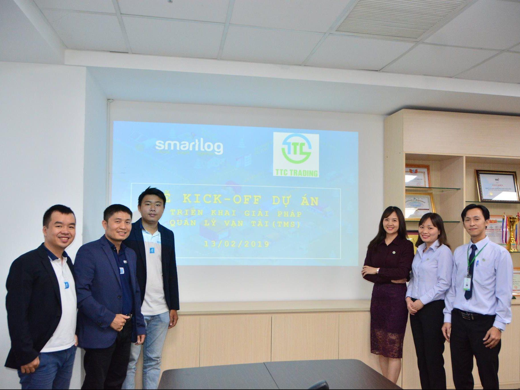 Kick-off Quản lý vận tải (STM) cho Công ty CP Thương mại Thành Thành Công