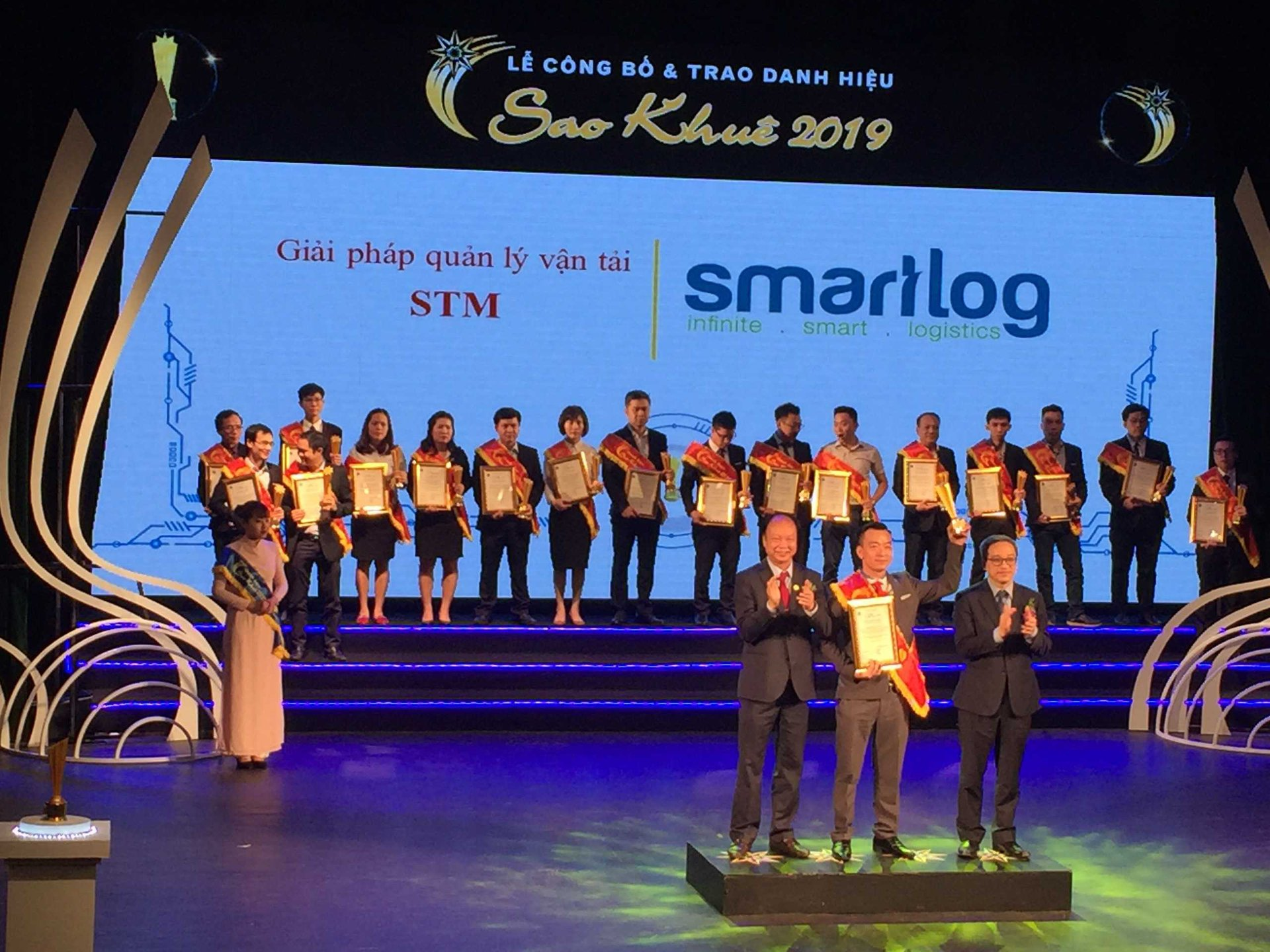 The only Vietnamese Logtech Awarded Sao Khuê 2019