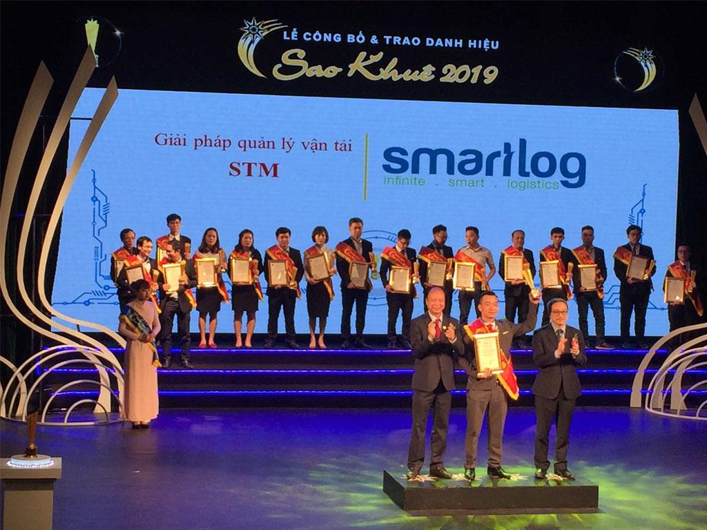 Đơn vị logtech Việt Nam đạt danh hiệu Sao Khuê 2019