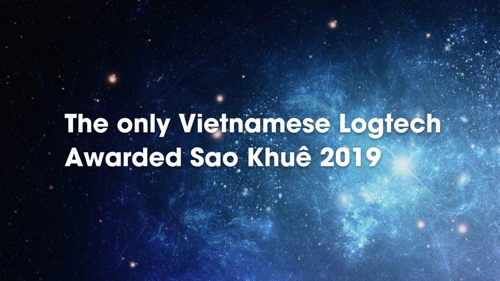 The only Vietnamese Logtech Awarded Sao Khuê 2019
