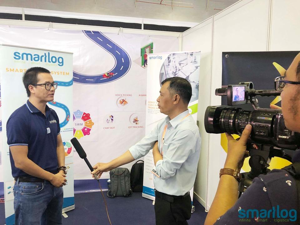 Smartlog tại triển lãm công nghệ quốc tế tại Việt Nam (ICTCOMM 2019)