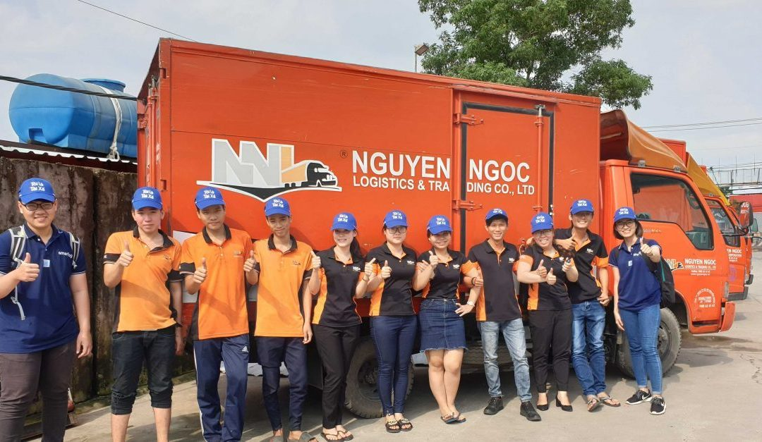 """Bác tài hưởng ứng chiến dịch """"Tôi là tài xế"""" tại Nguyễn Ngọc Logistics"""