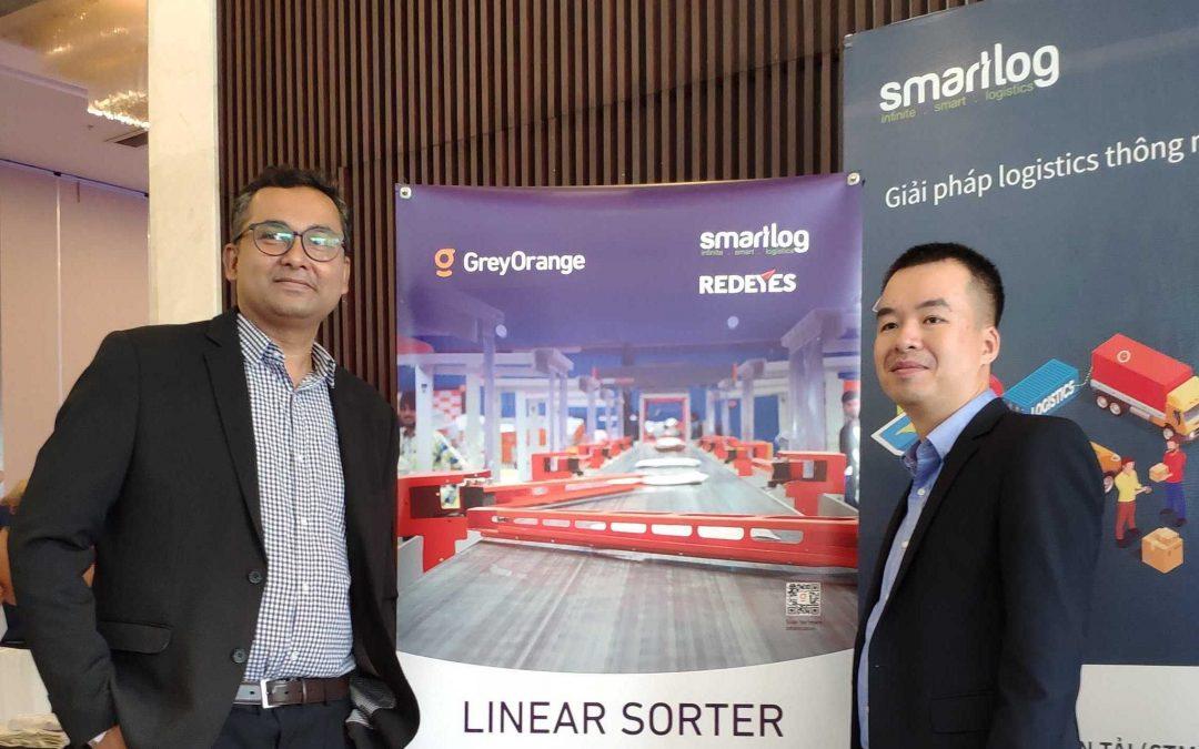 Smatlog và đối tác Grey Orange tham gia đồng hành tại Diễn đàn đối đầu thương mại MỸ – TRUNG