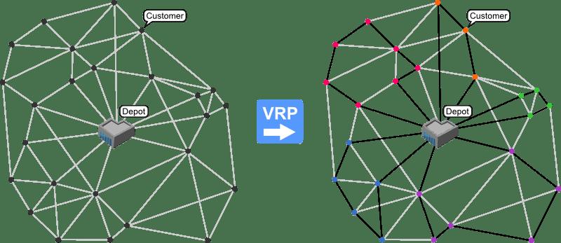 Giải quyết các bài toán tối ưu vận tải VPR
