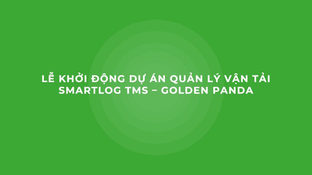 Smartlog TMS - Golden Panda