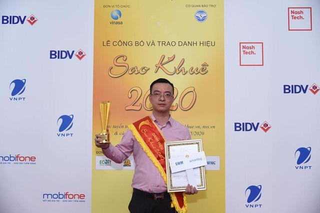 Smartlog: Danh hiệu Sao Khuê 2 năm liên tiếp cho phần mềm quản lý logistics