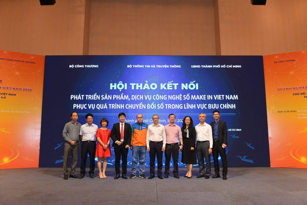 """Hội thảo và triển lãm doanh nghiệp, sản phẩm công nghệ số """"Make in Viet Nam 2020"""