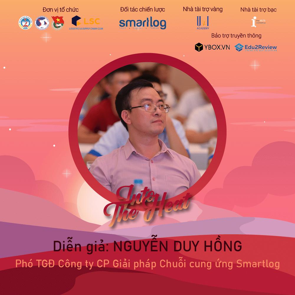 Ông Nguyễn Duy Hồng, Phó Tổng giám đốc công ty Smartlog