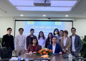 Lễ ký kết hợp tác đào tạo và ứng dụng phần mềm Logistics 4.0 phiên bản giáo dục giữa Viện Edins và Công ty Smartlog