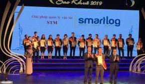 SMARTLOG – ĐƠN VỊ LOGTECH VIỆT NAM DUY NHẤT ĐƯỢC VINH DANH TRONG DANH HIỆU SAO KHUÊ 2019